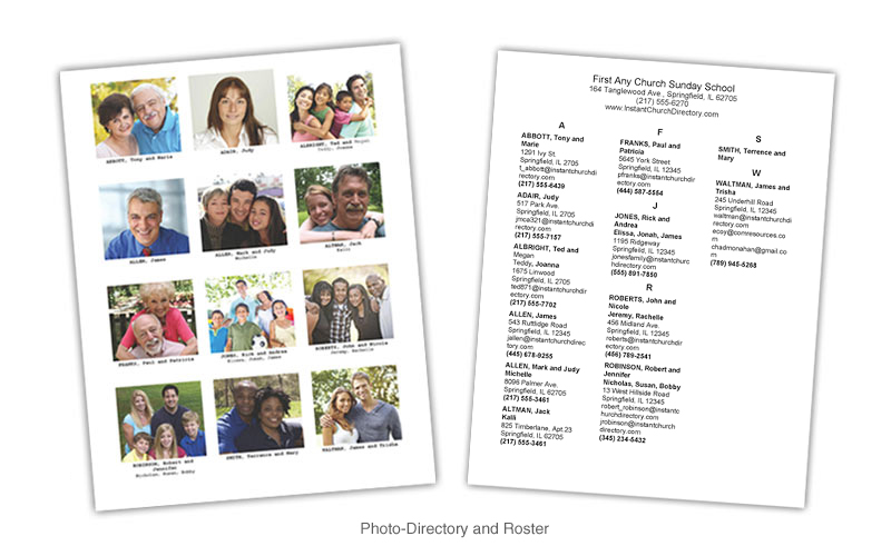 Communication resources inc comresources online store for Free church photo directory template