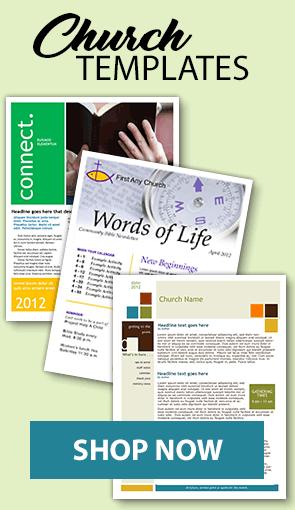 Premium Church Newsletter Templates