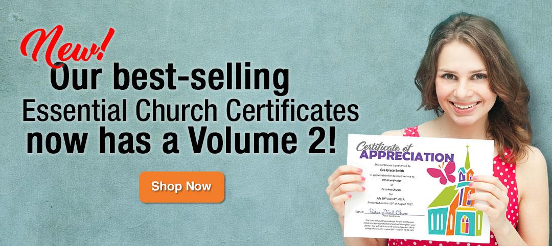 Essential Church Certificates