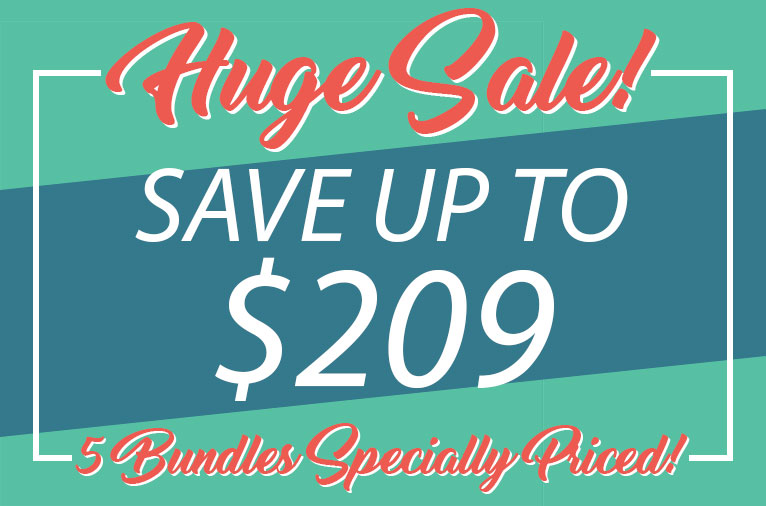 Huge Sale! Save up to $209