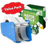 Christian Resources for Churches Wafer Seals Value Packs