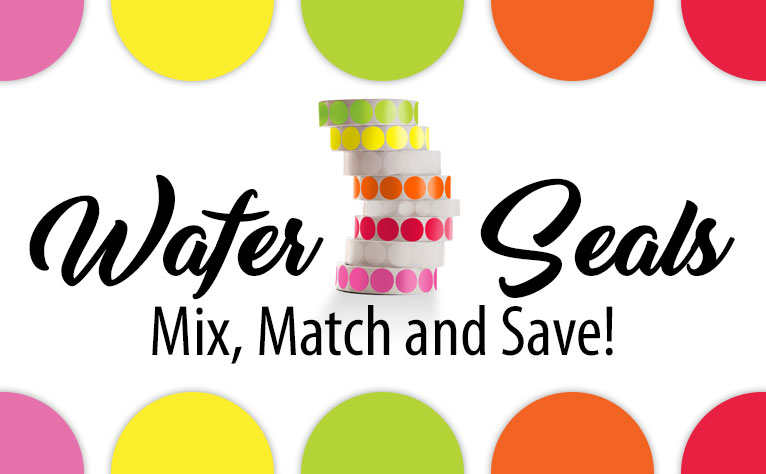 Wafer Seals. Mix, Match and Save!