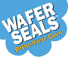 Wafer Seals. Print Your Own.
