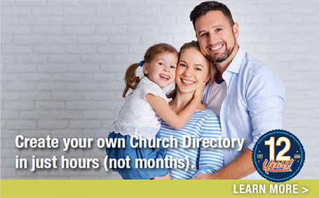 Christian Resources for Churches Instant Church Directory Celebrate 12 Years