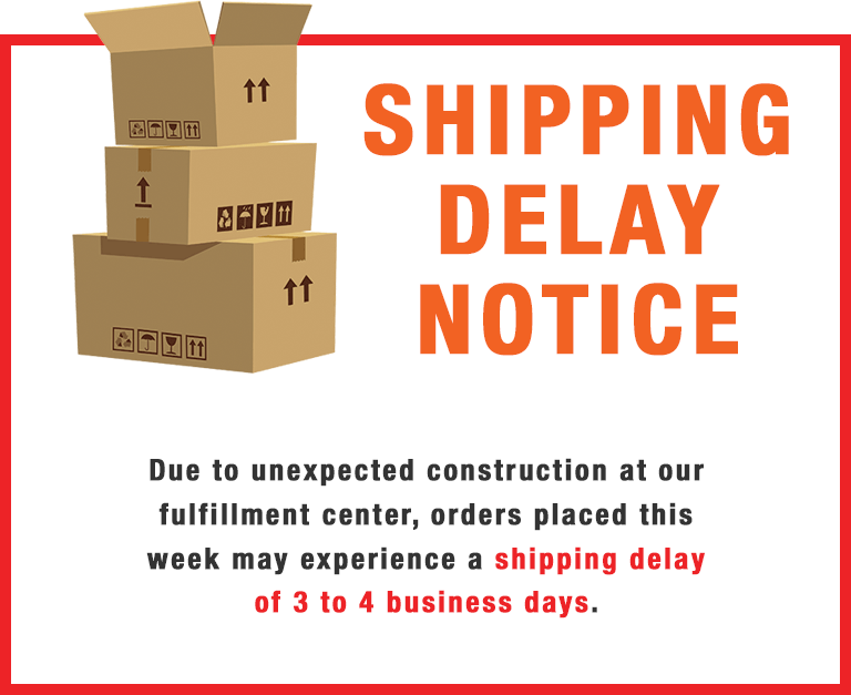 Shipping Notice Delay.