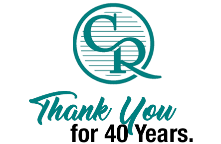 Thank You for 40 Years