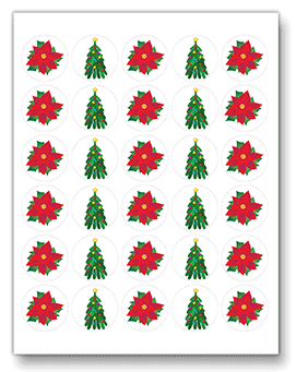 CHRISTMAS TREEs template
