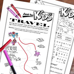 Just For Kids Bible Puzzles 3