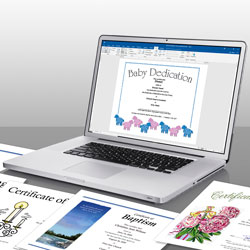 Shop Church Certificates