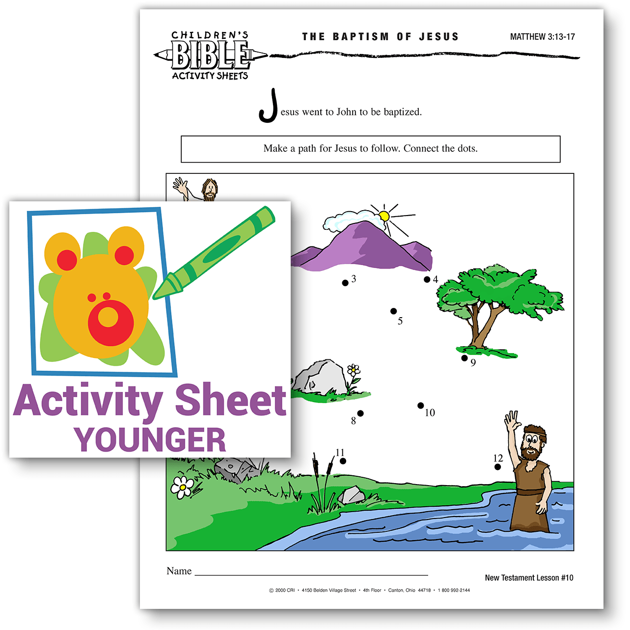 children u0027s bible activities