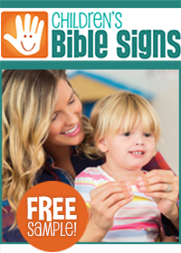 Children's Bible Signs